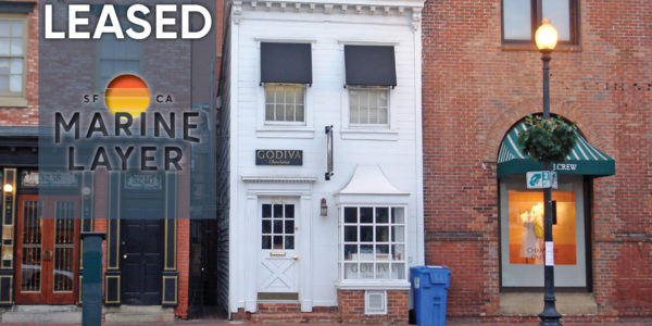 3242 M Street Georgetown Leased to Marine Layer - Retail Space for lease in DC Restaurant space for lease Miller Walker Retail real estate