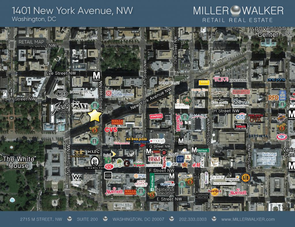 1401 NY Ave Retail Map
