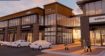Bram Quarter retail shopping center