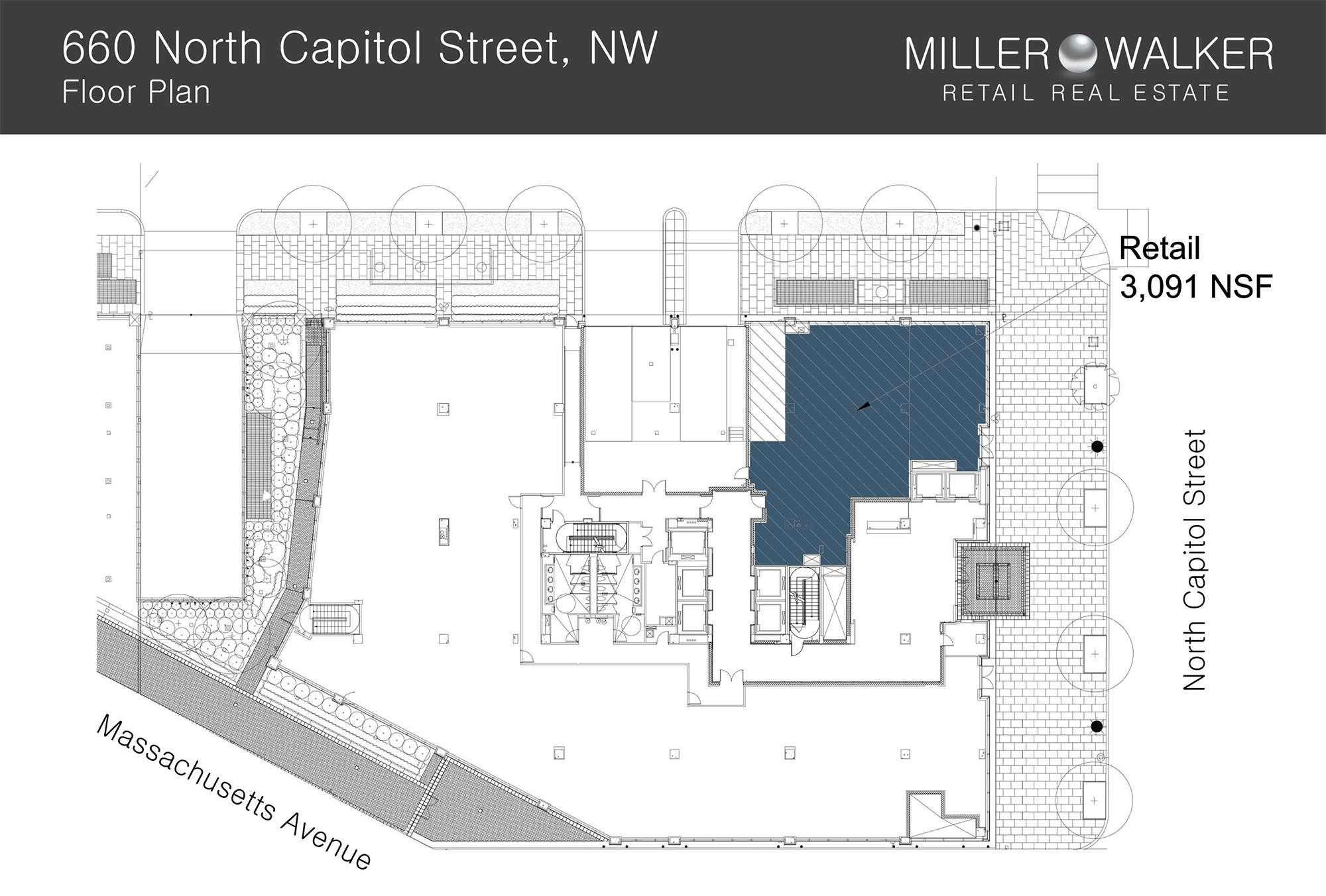 660 North Capitol Floor Plan