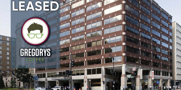 1101 Connecticut Avenue Leased to Gregorys Coffee retail brokers dc miller walker retail real estate