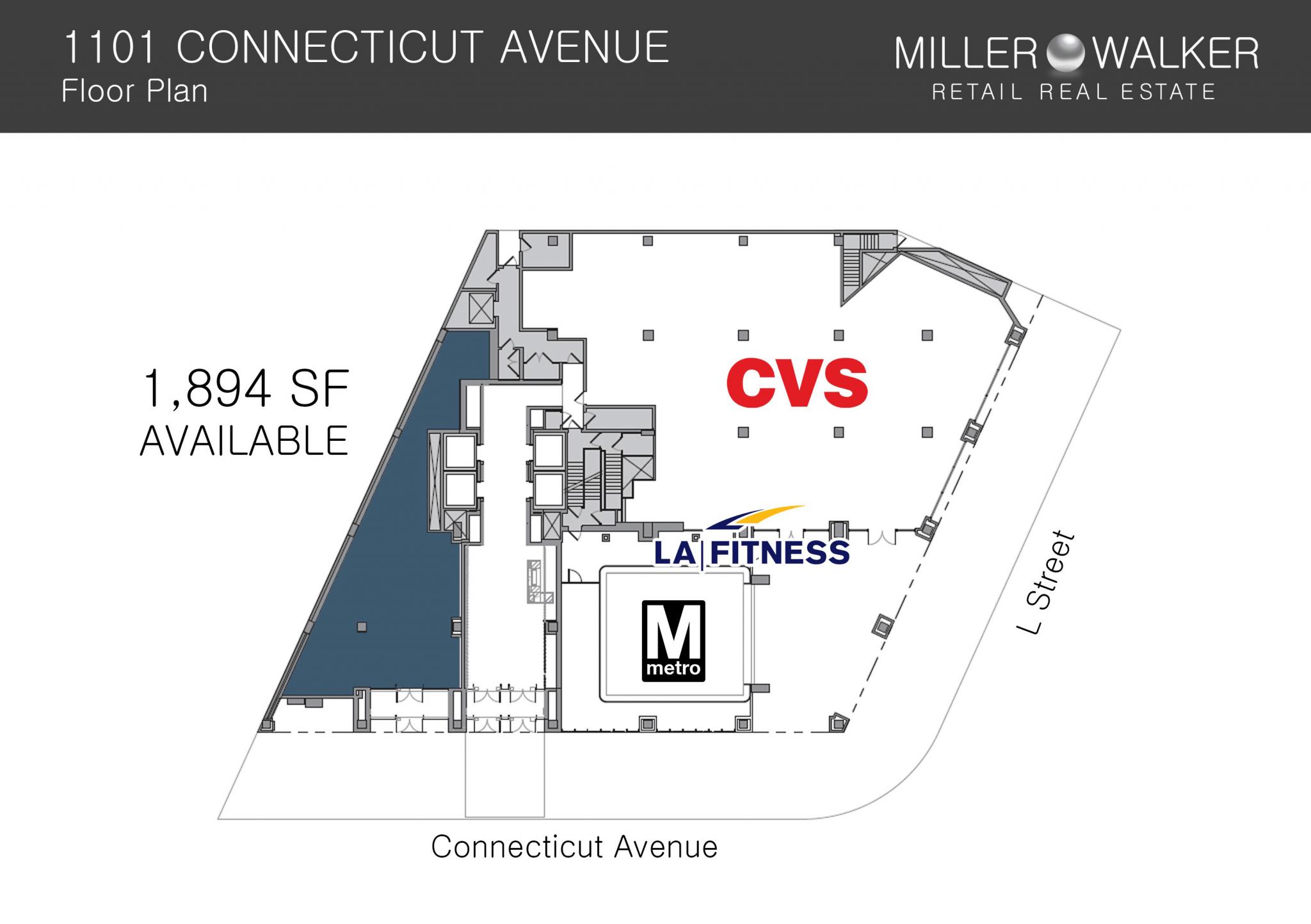 1101 Connecticut Floor Plan