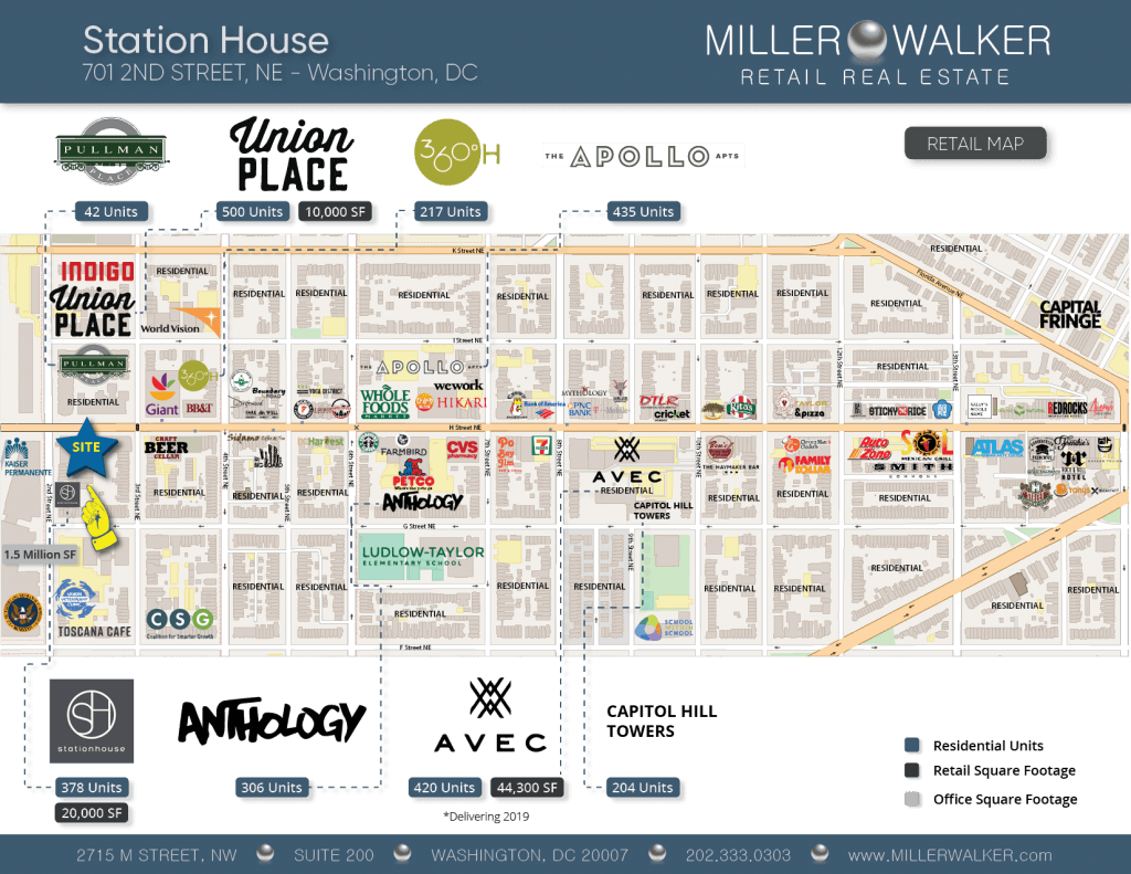 Station House retail map