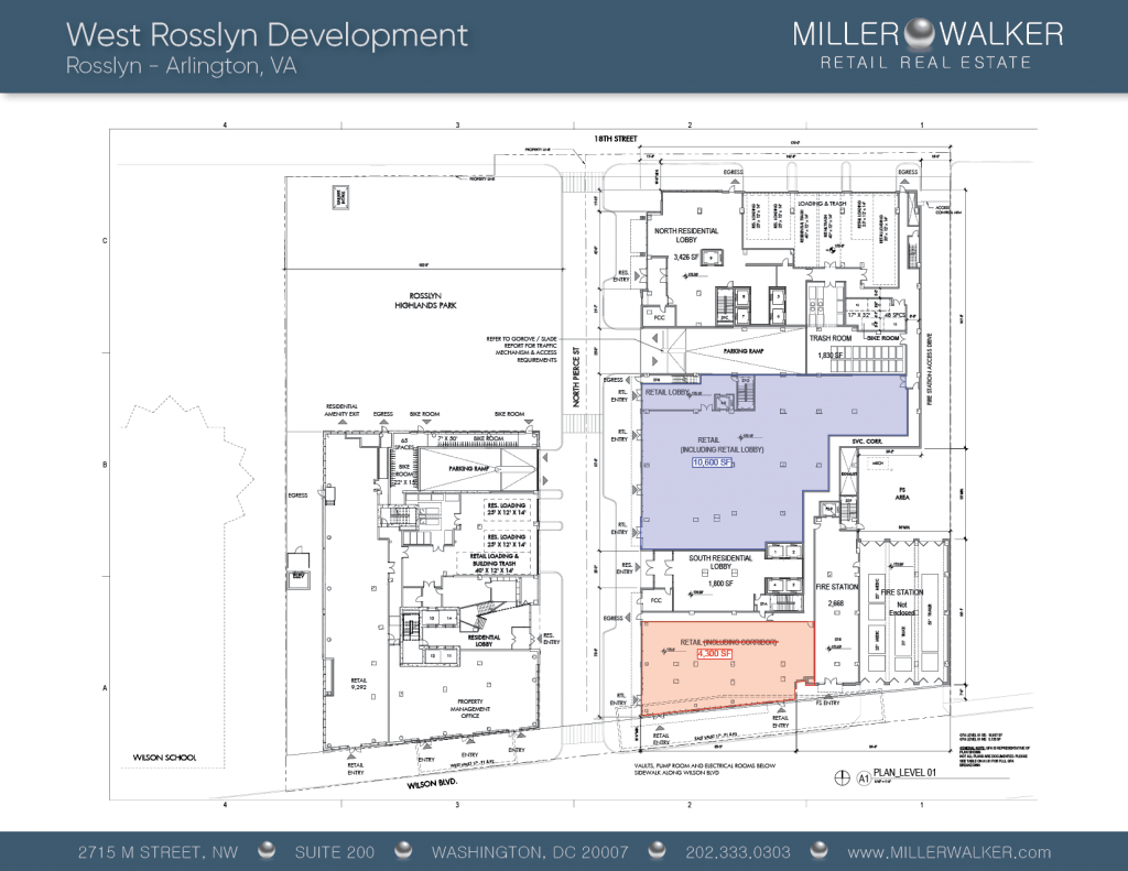 West Rosslyn Floor Plans