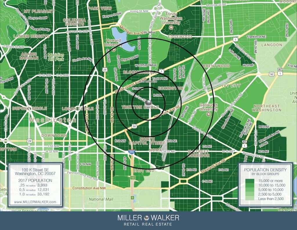 100 K Street, SE Population Demographics