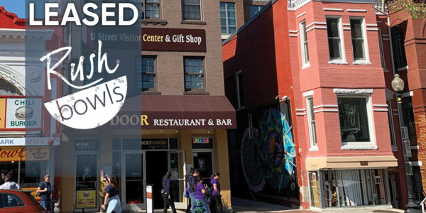 1209 U Street store front leased to rush bowl restaurant