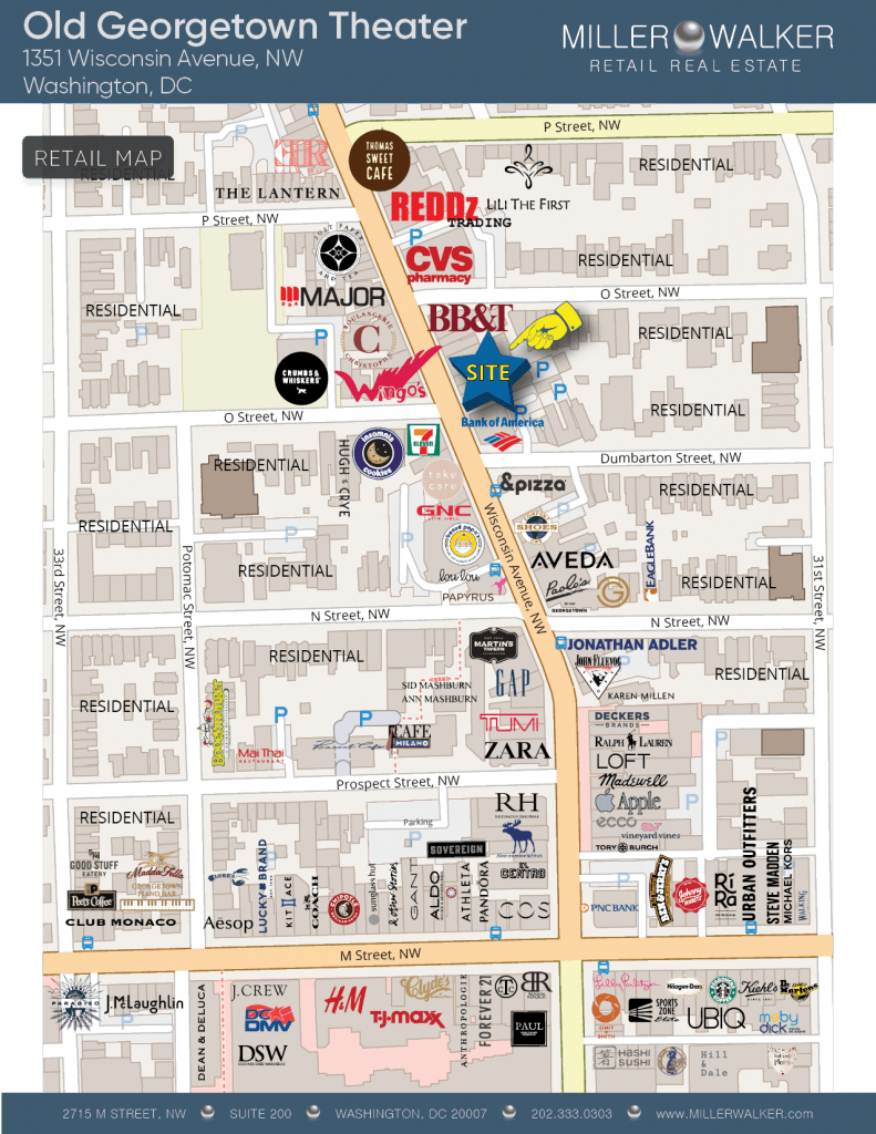 1351 Wisconsin Ave map