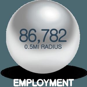 Employment Density 1010 mass