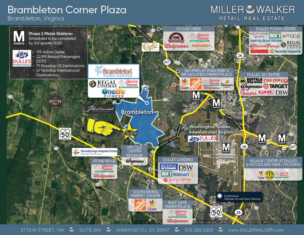 brambleton corner plaza retail restaurant and spaces for leasae nearby retail in loudoun county virginia