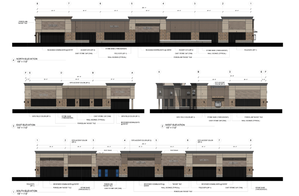 brambleton corner plaza retail restaurant and spaces for leasae rendering in loudoun county virginia