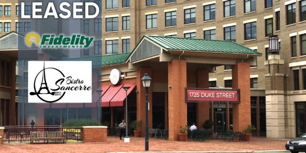 1725 duke street arlington virginia restaurant space fully leased to fidelity and bistro sancerre