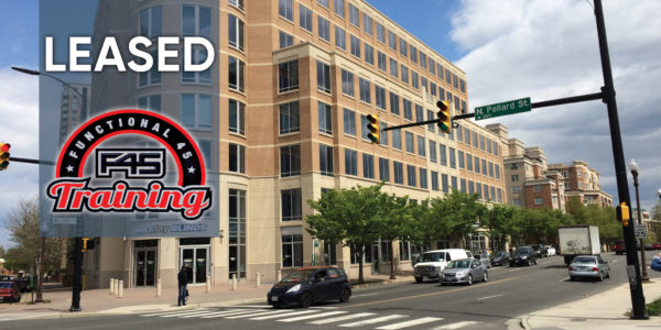 Ballston Gateway Leased to F45 Training by Miller walker retail real estate
