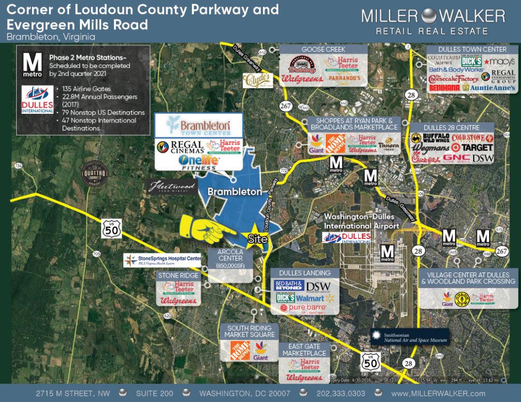 Bram Quarter Area Retail Leasing Map