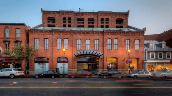 Georgetown Park Restaurants Space for lease miller walker