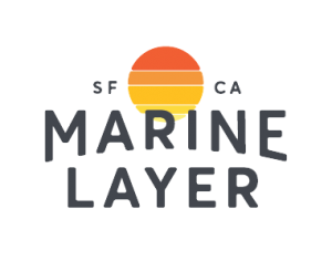 Marine Layer logo transparent  background png georgetown dc