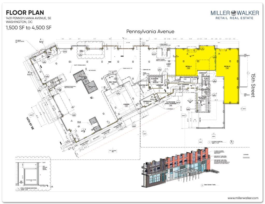 floor plans for retail store at blackbird