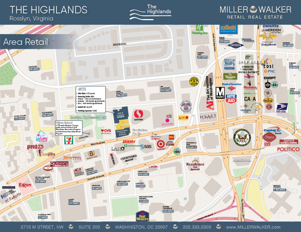 rosslyn va shopping and nearby stores