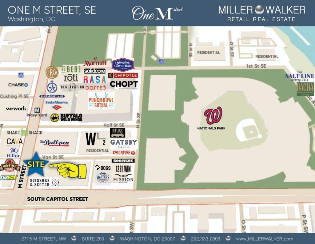 restaurants and retail stores in capital riverfront