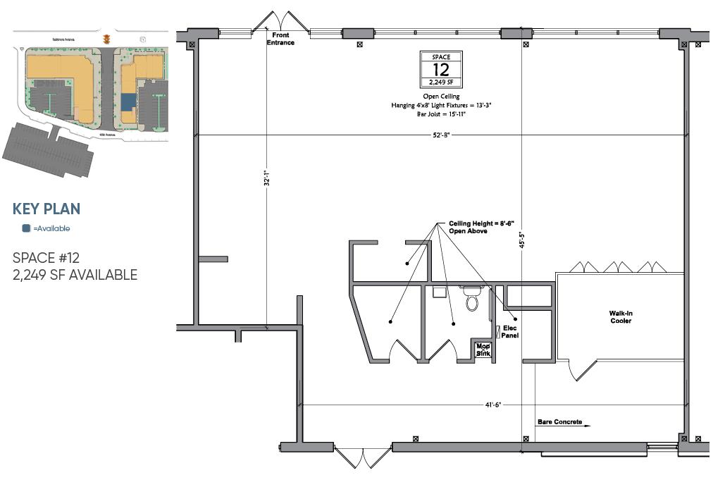 floor plan retail space for lease in hyattsville maryland