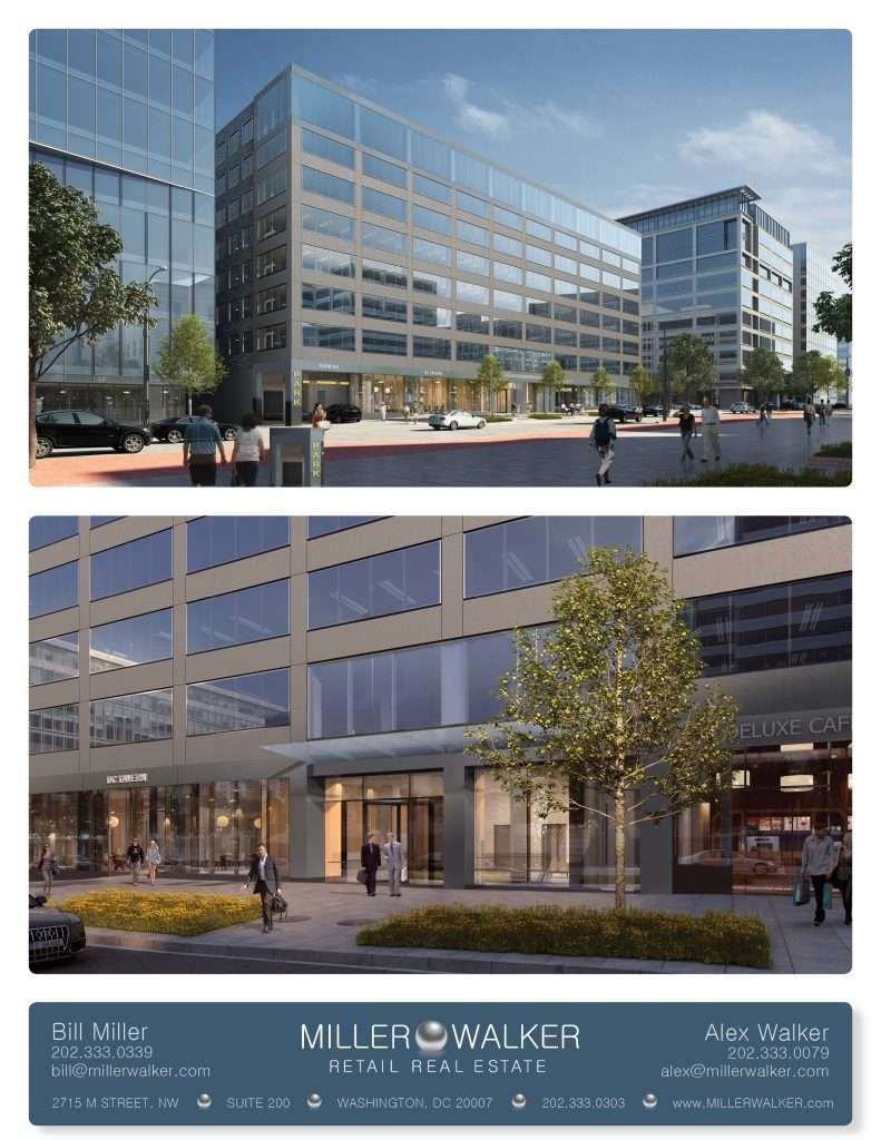2033 K Street NW Restaurant and retail space for lease in DC - CBD/MIDTOWN | Miller Walker Retail real estate photos