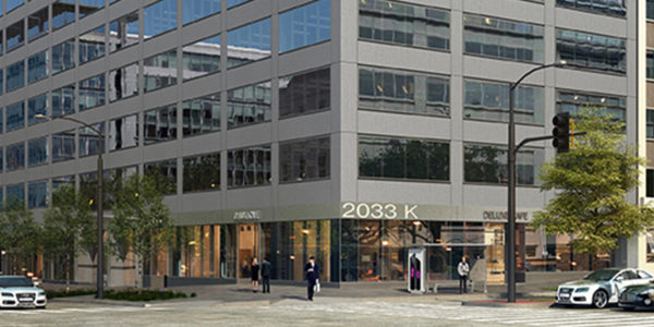 2033 K Street NW Restaurant and retail space for lease in DC - CBD/MIDTOWN | Miller Walker Retail real estate storefront thumbnail