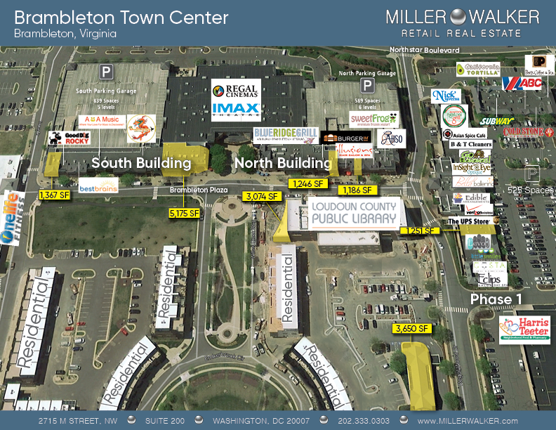brambleton town center site plan