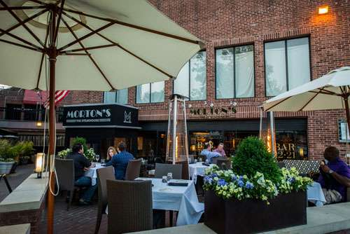 Morton's steakhouse leaving Georgetown. Prospect street looking for new restaurant space for lease