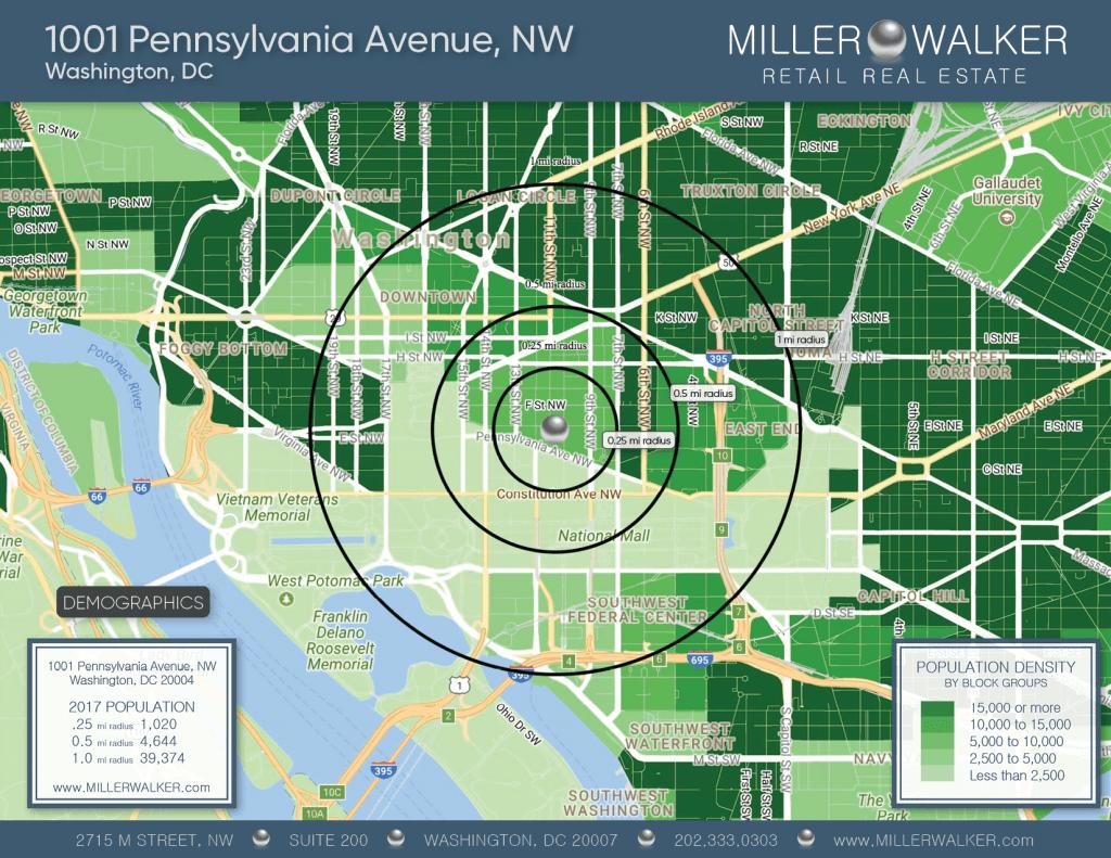 1001 Penn Ave Demographics
