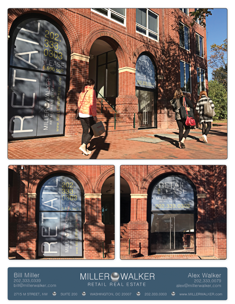 Retail Space for Lease DC - 2715 M Street Georgetown, DC Great office space for lease Photos