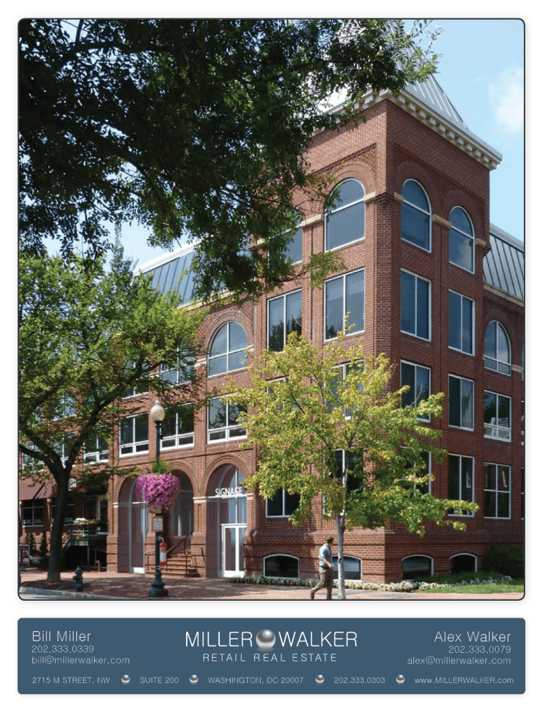 2715 M Street NW DC Available for lease great for office space tenant or retail located in georgetown