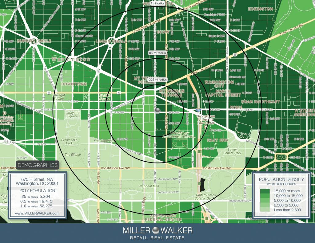 675 H Street Population density