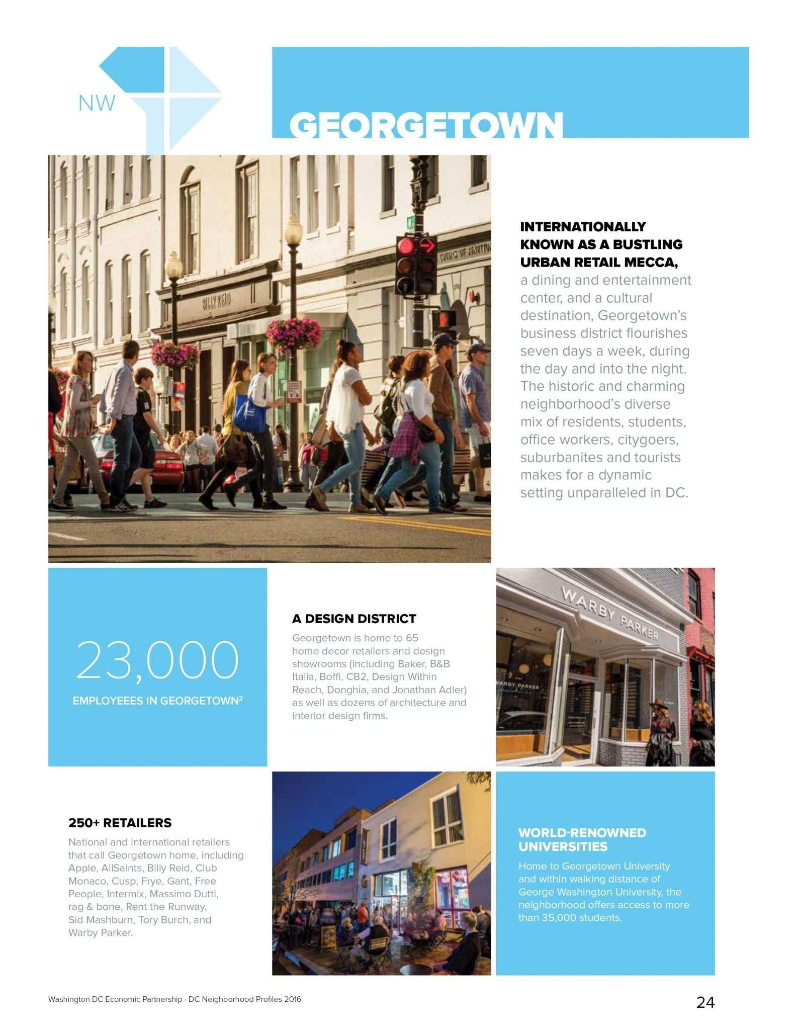 Georgetown Neighborhood Demographics