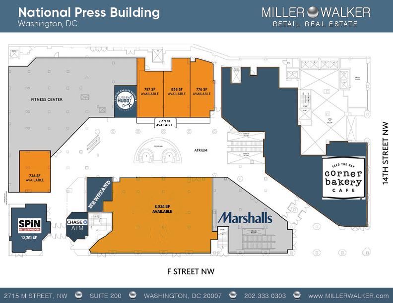 national press building floor plans