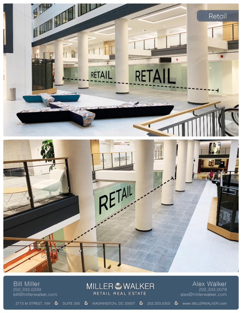 retail space for lease at National Press Building in Washington DC