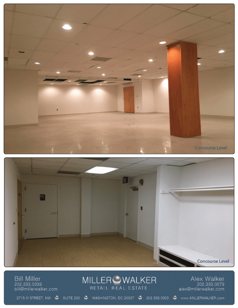 Retail Space for Lease DC - 2631 Connecticut Avenue, NW - Woodley Park restaurant and fitness space for lease photos2