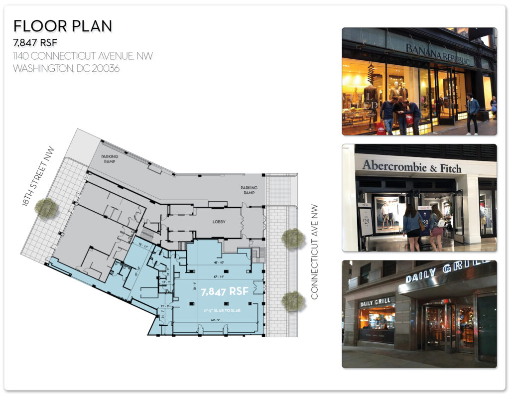 floor plan retail store 1140 connecticut avenue