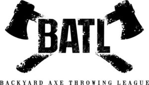 BATL LOGO BATL Axe throwing batlground