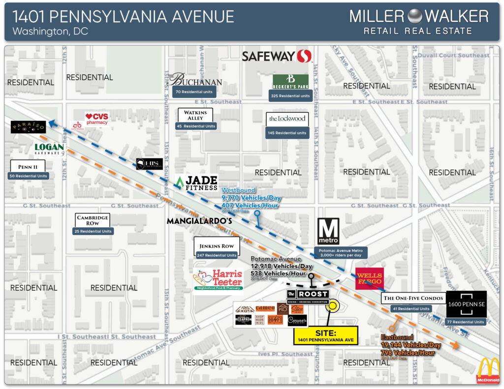 nearby retail stores by blackbird 1401 pennsylvania avenue